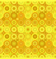 geometric concentric circle pattern - background vector image vector image