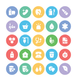 Health Icons 4 vector image