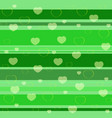 holiday seamless pattern green vector image vector image