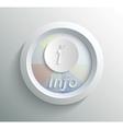 Icon info vector image vector image