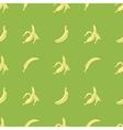 Seamless bananas pattern vector image vector image