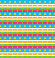 Seamless Geometric Pattern with Stripes and vector image vector image