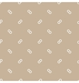 Seamless pattern of infinity symbol vector image vector image