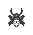 shogun warrior japanese knight vector image