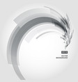 abstract background element in black and gray vector image