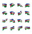 azerbaijan on a white vector image