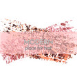 creative background design hand drawn pink vector image vector image