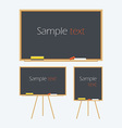 Empty Whiteboard vector image vector image