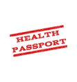 Health Passport Watermark Stamp