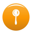 judgement icon orange vector image vector image