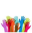 multicultural and multiethnic people community vector image