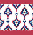 oriental tile ornament abstract geometric retro vector image