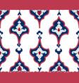 oriental tile ornament abstrcat geometric retro vector image vector image