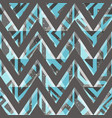 retro zigzag seamless pattern with grunge effect vector image