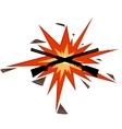 Trap shooting vector image