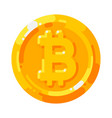 cryptocurrency logo digital money bitcoin vector image