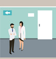 medical people health vector image vector image