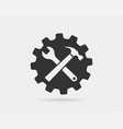 tools wrench icon spanner logo design element key vector image vector image