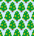 Christmas Tree seamless pattern Holiday wood vector image vector image