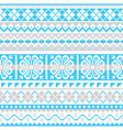 fair isle knit winter seamless pattern vector image vector image