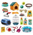 Pet Care Elements Set vector image
