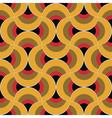 retro curtain ornament vector image