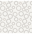 seamless dotted and lined pattern vector image vector image
