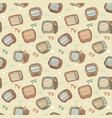 tv pattern vector image