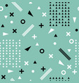 seamless ethnic pattern aztec abstract geometric vector image