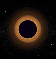 Black hole vector image vector image