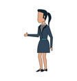 business woman avatar vector image
