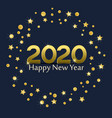 happy new year 2020 vector image vector image