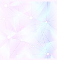 pastel color triangle seamless pattern vector image vector image