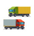 truck lorry icon or symbol delivery logistics vector image