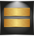 two banners vector image vector image