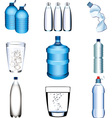 water set vector image vector image