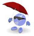 weather world vector image