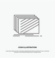 design layer layout texture textures icon line vector image vector image