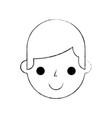 man cartoon repair assistance character work vector image