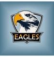 professional sports logo emblem template vector image vector image