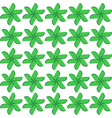 seamless pattern white background vector image vector image