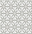 Snowflakes pattern 2 vector image