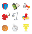 universal icons vector image