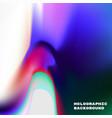 vivid gradient holographic vector image