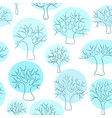 beautiful seamless pattern of hand drawn doodle vector image