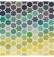 Background of repeating geometric stars Spectrum vector image vector image