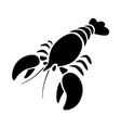 graphic lobster vector image vector image