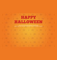 happy halloween background collection style vector image vector image