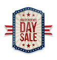 independence day sale banner vector image vector image