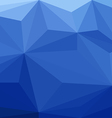 Blue Low Poly Background vector image vector image